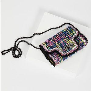NWT! Free People Tweed Bag
